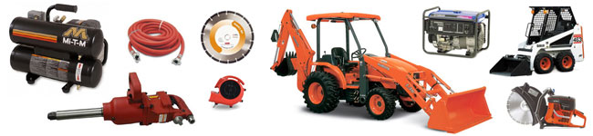 Equipment Rentals in Mt. Airy NC & King NC