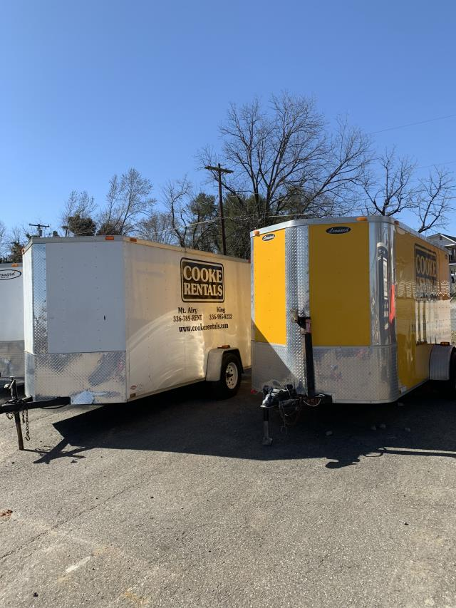 Where to find TRAILER 6X12 ENCLOSED in Mt. Airy