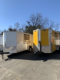 Where to rent TRAILER 6X12 ENCLOSED in Mt. Airy NC