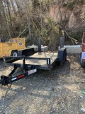 Where to rent TRAILER 6X12 2AXL RAMP 10K in Mt. Airy NC