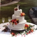 Where to rent WHITE 22  ROUND CAKE STAND in Mt. Airy NC