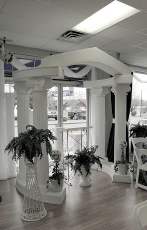 Where to find ARCHWAY COLONNADE in Mt. Airy