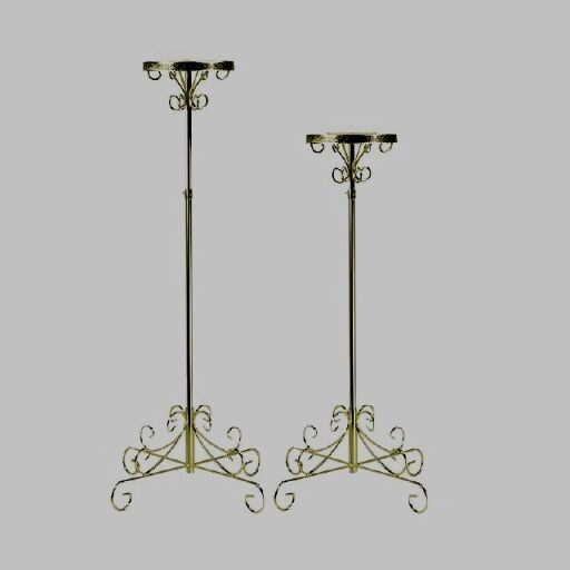 Where to find PLANT STAND BRASS ADJ. in Mt. Airy