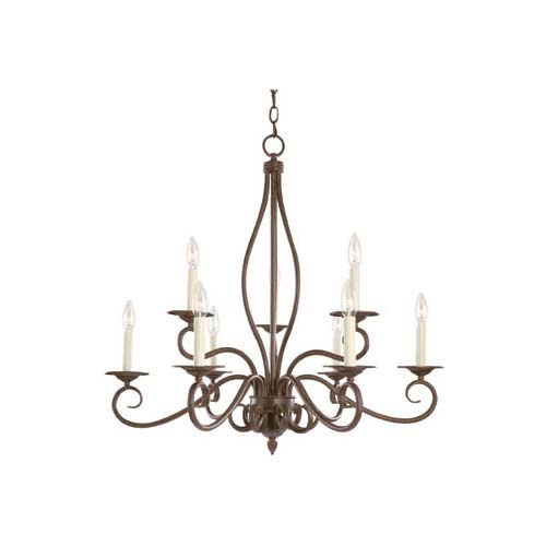 Where to find CHANDELIER BRONZE 9 LT in Mt. Airy