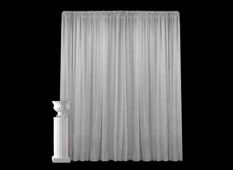 Where to find BANJO WHITE DRAPE 8 X4 in Mt. Airy