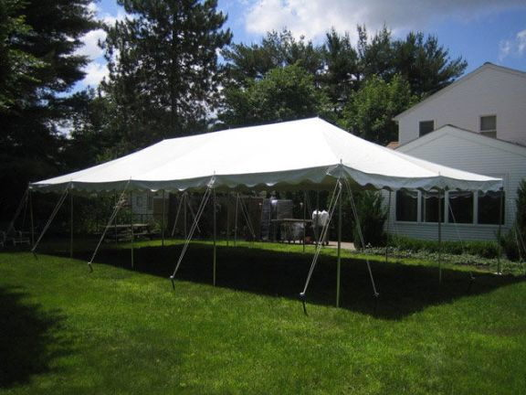 Where to find TENT 20X40 WHITE POLE 14 in Mt. Airy