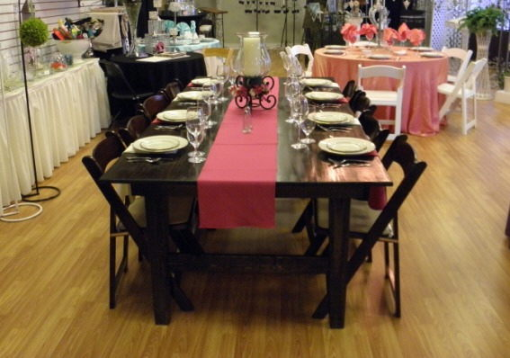 Where to find 45  X 96  HARVEST TABLE in Mt. Airy