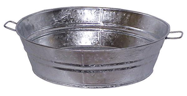 Where to find SMALL OVAL GALVANIZED TUB in Mt. Airy