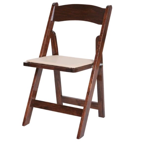 Where to find CHAIR FRUITWOOD W TAN SEAT in Mt. Airy