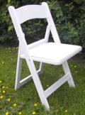 Where to rent CHAIR WHITE PADDED RESIN in Mt. Airy NC