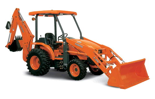 Where to find BACKHOE KUBOTA L39 24  4WD in Mt. Airy
