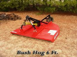 Where to find BUSH HOG 6FT in Mt. Airy