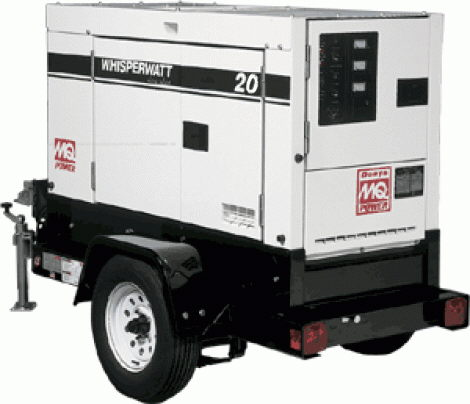 Where to find 20KW GENERATOR TOWABLE in Mt. Airy