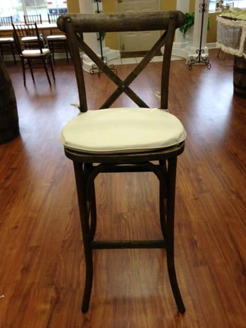Where to find BAR STOOL  X BACK W  CUSHION in Mt. Airy