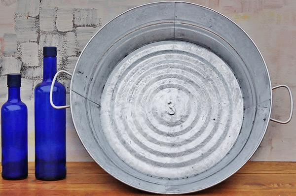 Where to find ROUND GALVANIZED PAN in Mt. Airy
