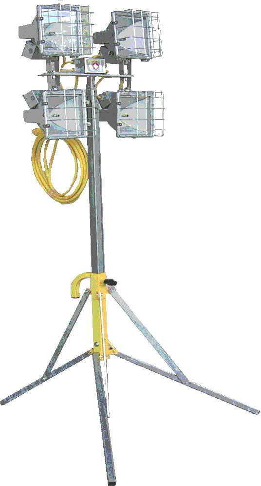 Where to find LIGHT STAND 4 X 500 WATT in Mt. Airy