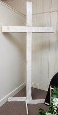 Where to rent WHITE WOODEN CROSS in Mt. Airy NC