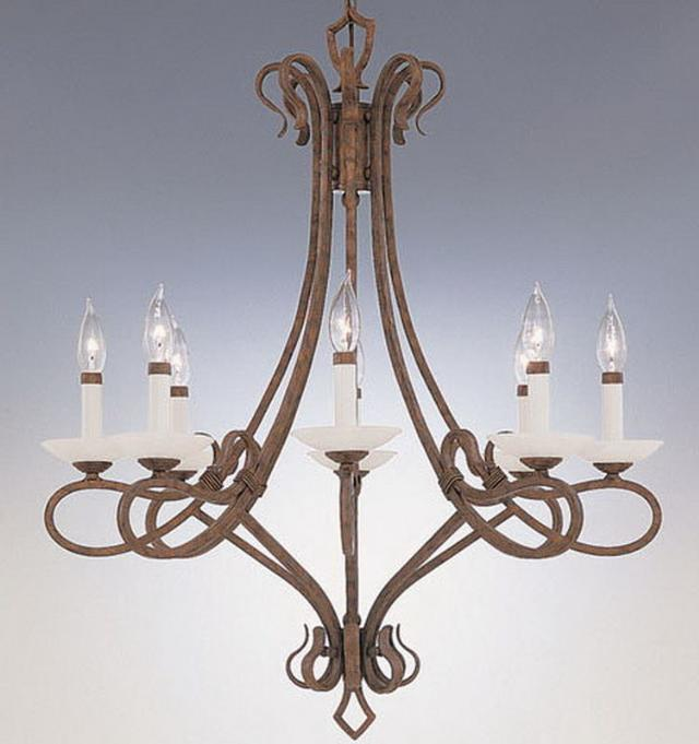 Where to find CHANDELIER BRONZE 8LT in Mt. Airy