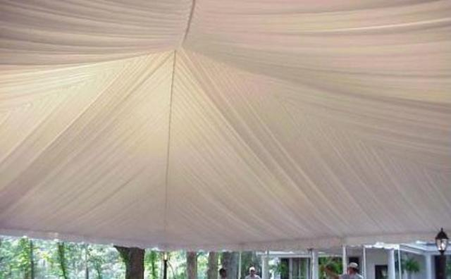 Where to find 20x10 TENT LINER END-WHITE in Mt. Airy