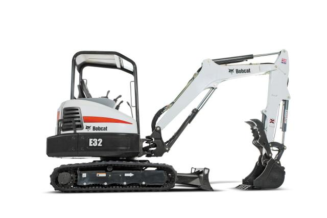 Where to find TRACKHOE E32 W THUMB in Mt. Airy