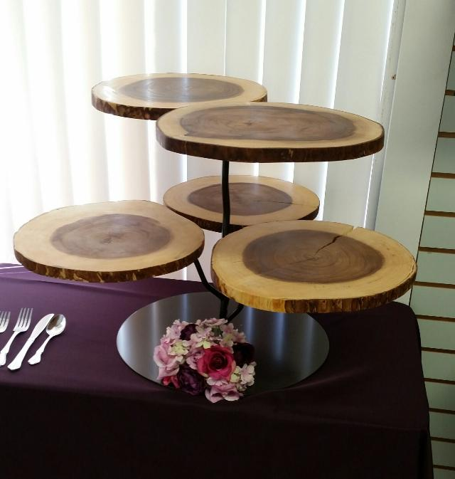 Where to find TWIG BUFFET RISER W  WOOD CHARGER-BRONZE in Mt. Airy