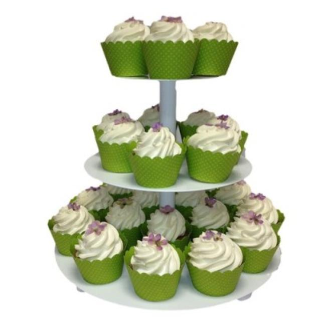 Where to find MINI WHITE ROUND CUPCAKE STAND in Mt. Airy
