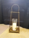 Where to rent LANTERN 16  TALL 8  SQ. BRONZE METAL in Mt. Airy NC