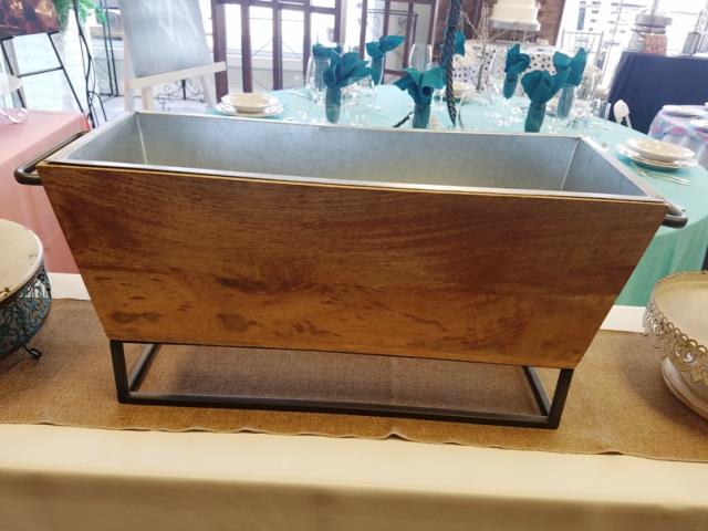 Where to find RUSTIC WOODEN BEVERAGE TUB in Mt. Airy