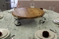 Where to rent WOOD 22  CAKE STAND-LAZY SUSAN BASE in Mt. Airy NC