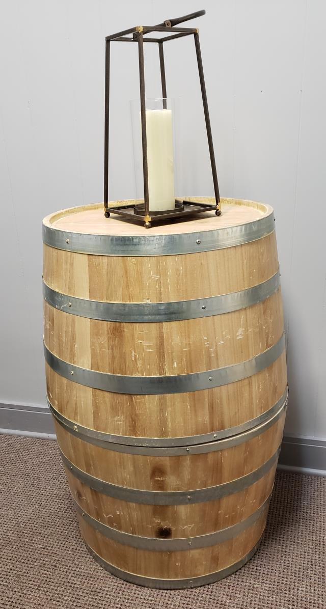 Where to find WINE BARREL HALVES-NATURAL FINISH in Mt. Airy