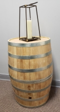 Where to rent WINE BARREL HALVES-NATURAL FINISH in Mt. Airy NC