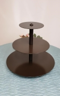 Where to rent MINI BRONZE ROUND CUPCAKE STAND in Mt. Airy NC