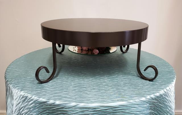 Where to find BRONZE MAJESTIC 18  ROUND CAKE STAND in Mt. Airy