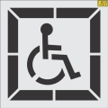 Where to rent HANDICAP STENCIL in Mt. Airy NC